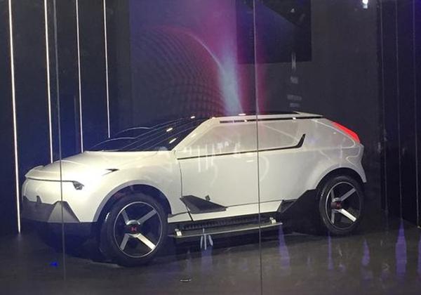 """首台量产车将于2018年下线 威马汽车发布概念车""""AG2020"""""""