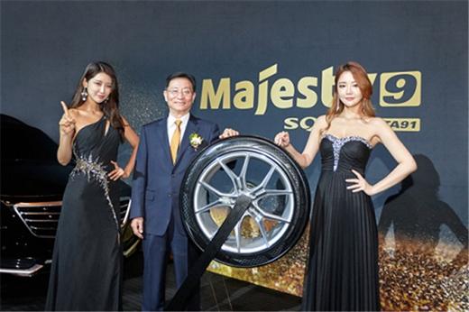 锦湖轮胎新产品惊艳亮相,瞄准高端市场