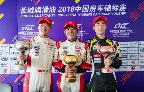 2018 CTCC肇庆站盛夏之战,广汽丰田车队收获双料冠军