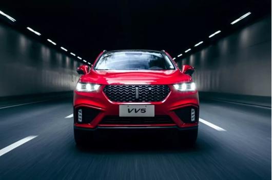 超懂年轻人的SUV车型,颜智先锋VV5你想要的它全有!
